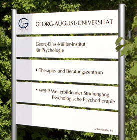 Georg-Elias-M�ller-Institut f�r Psychologie